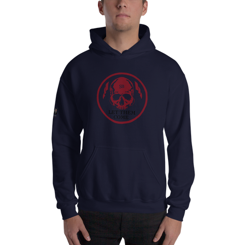 Let them come Hoodie - Navy