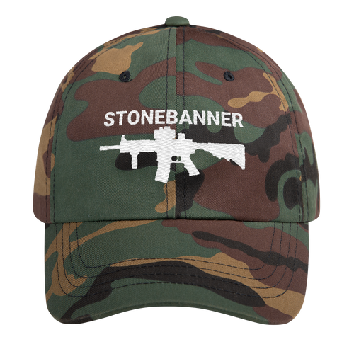 Rifle Dad hat - Camo