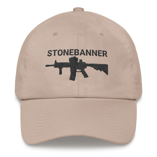 Rifle Dad hat - Stone