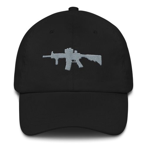 Rifle Dad hat - Black
