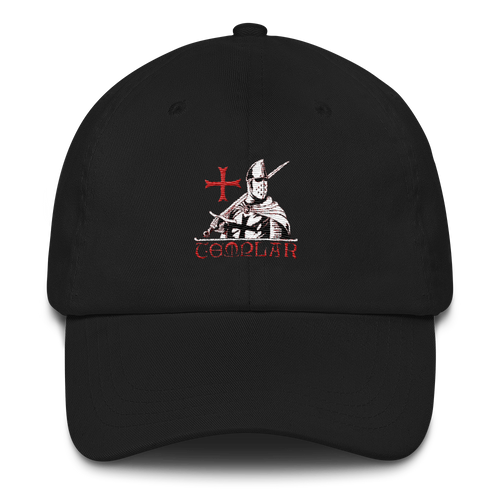 Templar Dad hat - Black