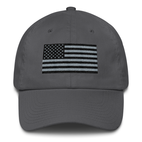 Dark American Flag Cap - Charcoal
