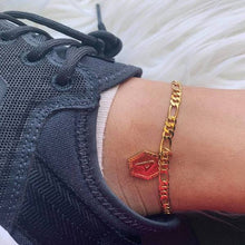 Load image into Gallery viewer, Personalized Initial Anklet