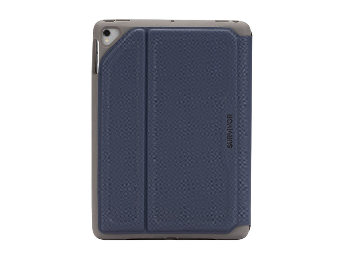 Survivor Rugged Folio for iPad 9.7 (2017), 9.7-inch Pro, iPad air, iPad air 2, Blue