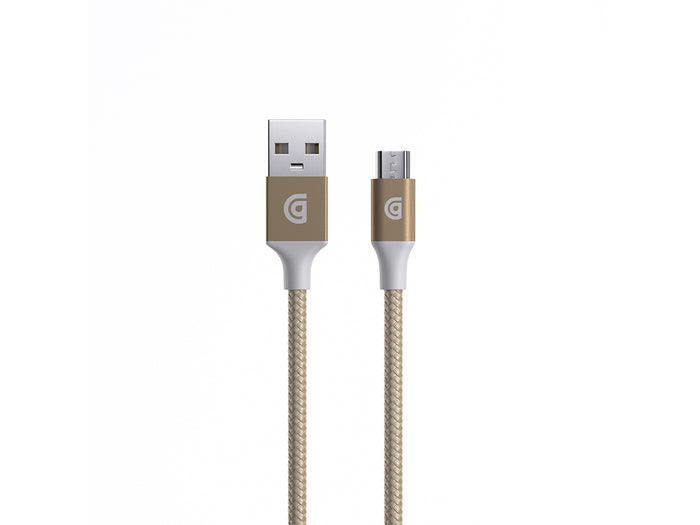 Premium Braided Micro-USB Cable, 5ft.