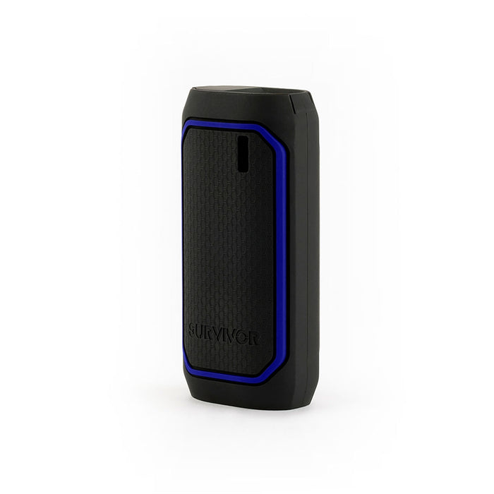 "Survivorâ""¢ Rugged Power Bank Battery, 6,000 mAh, Black/Blue"