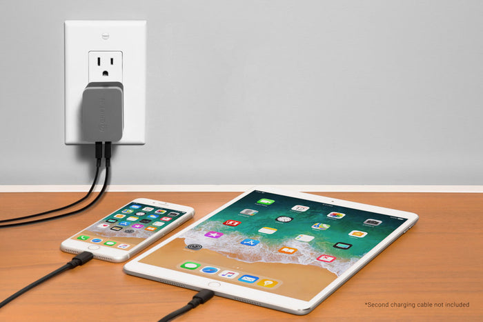 PowerBlock® Dual Wall Charger With Lightning Cable