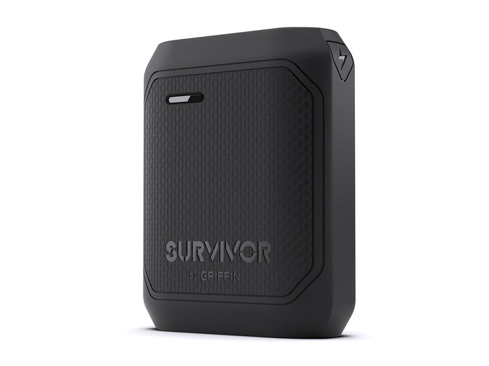 Survivor Rugged Power Bank Battery, 10,050 mAh