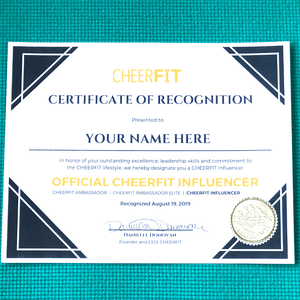 Influencer Digital Certificate