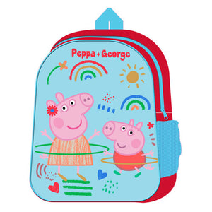 OFFICIAL PEPPA & GEORGE PIG CHARACTER BACKPACK
