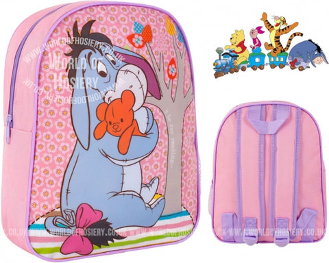 Official Disney Winnie the Pooh Eeyore Character Junior School Backpack