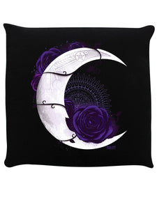 Requiem Collective Lunar Mandala Black Cushion