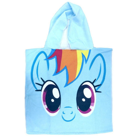 OFFICIAL MY LITTLE PONY TOWEL MICROFIBRE PONCHO