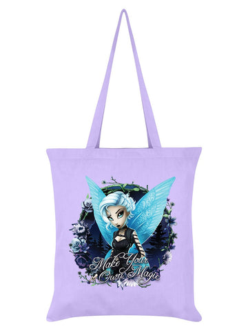 Hexxie Juniper Make Your Own Magic Lilac Tote Bag
