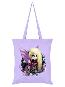 Hexxie Izzy It's Not Just A Phase Lilac Tote Bag