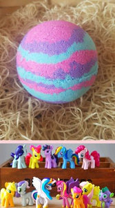 Hidden Treasure Bath Bomb, Little Pony Surprise