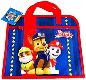 "Official PAW Patrol ""Chase, Marshall & Rubble"" Character School Book Bag"