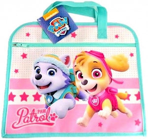 Girls Official PAW Patrol Skye & Everest Character School Book Bag