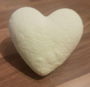 Rosemary & Lemon Heart Shower Steamer - With Essential Oils