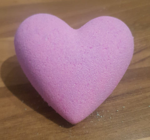Rosemary & Bergamot Heart Shower Steamer - With Essential Oils