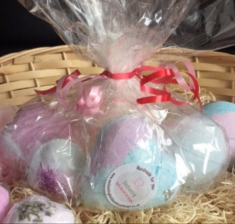 6 Piece Bath Bomb Gift Set