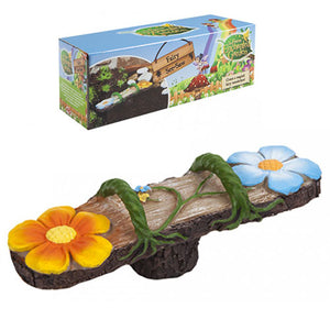 SECRET FAIRY GARDEN WOODLAND SEE-SAW