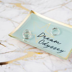 Dream Odyssey Star Aqua Trinket Dish - A Gift From The Gods