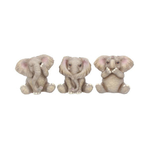 Three Baby Elephants 8cm (PRE ORDER)