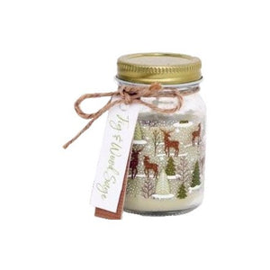 FIG & WOOD SAGE SCENTED MASON CANDLE