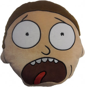 Official Rick and Morty Mortimer Smith Head Shaped Embroidered Plush Cushion