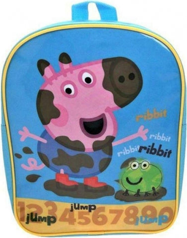 Official Peppa Pig Ribbit Character Junior School Backpack