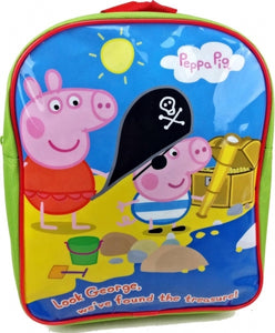 Official Peppa & George Pig Character Junior School Backpack