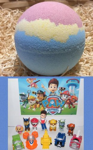 Puppy Patrol Hidden Treasure Bath Bomb