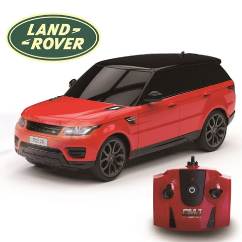 Official Red Land Rover Range Rover Sport Replica 1:24 Remote Control Car