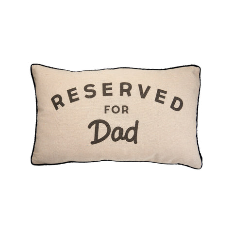 RESERVED FOR DAD DECORATIVE CUSHION (ready to post item)