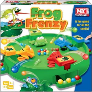 Traditional Family Classic Frog Frenzy Game by M.Y