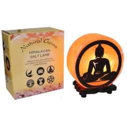 Buddha Design Salt Lamp