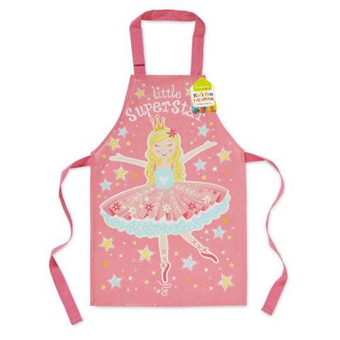 LITTLE SUPERSTAR TABARD PVC APRON