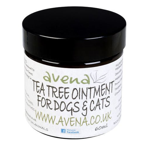 Dog & Cat Natural Tea Tree Ointment