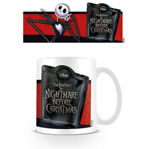 Nightmare Before Christmas Boxed Mug Jack Banner