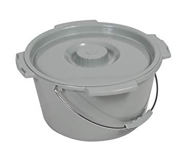 Commode Pail & Lid