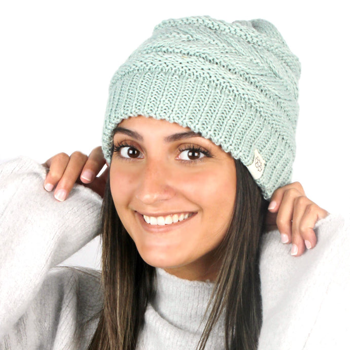 Recycled Knit Beanie - ABB408R