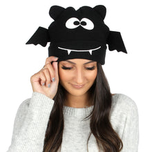 Load image into Gallery viewer, Halloween Bat Wing Beanie, ABBL23865