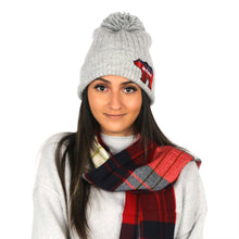 Load image into Gallery viewer, Mama Bear Beanie + STC scarf Gift Set with Box - ABBZTW3
