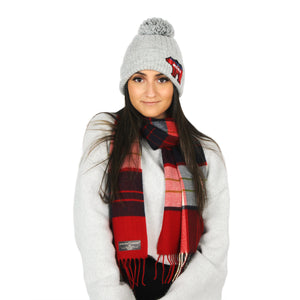 Mama Bear Beanie + STC scarf Gift Set with Box - ABBZTW3