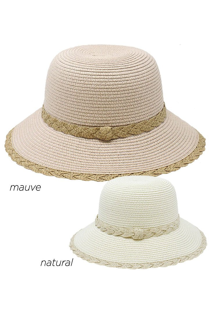ABU31651 - Straw Bucket with Edge Detail