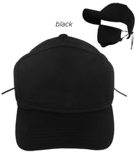 Load image into Gallery viewer, Unisex Antibacterial Coated Cap with Plain Mask