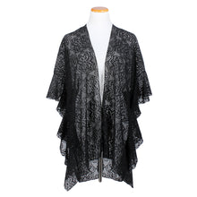 Load image into Gallery viewer, Lace Shawl with Ruffle