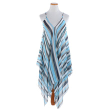 Load image into Gallery viewer, Stripe Print Shawl