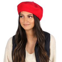 Load image into Gallery viewer, Solid Wool Beret